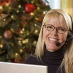 christmas-message-office-telephone-system